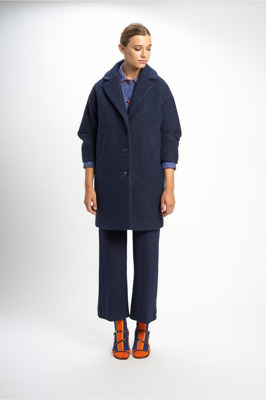Poupée Chic | Abrigo winter chic azul